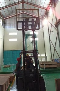 Riksa Uji Forklift di Bandung